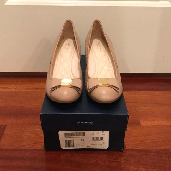 21fd9de7d Cole Haan Shoes   Tali Grand Bow Wedge   Poshmark